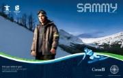 宣传海报 Find Your Passion in Sport Sammy Kent桌面壁纸 2010 年温哥华冬奥会官方壁纸 体育壁纸