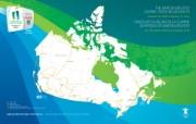 火炬传递路线 加拿大全国桌面壁纸 2010 年温哥华冬奥会官方壁纸 体育壁纸