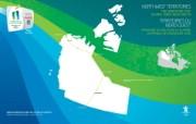 火炬传递路线 西北地区 Northwest Territories桌面壁纸 2010 年温哥华冬奥会官方壁纸 体育壁纸