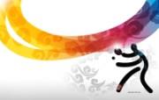 奥运中国风壁纸 体育壁纸
