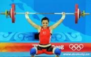 北京奥运举重壁纸 体育壁纸