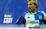 英超联赛球队 官方Blackburn 布莱克本壁纸 MICHAEL GRAY桌面壁纸 Blackburn 布莱克本官方壁纸 体育壁纸
