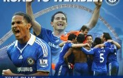 英超联赛球队 官方Chelsea 切尔西壁纸 road to wembley桌面壁纸 Chelsea 切尔西车路士壁纸 体育壁纸
