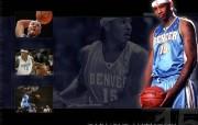 NBA 丹佛掘金队2008 09赛季官方桌面壁纸 Carmelo Anthony桌面壁纸 丹佛掘金队200809赛季壁纸 体育壁纸