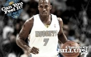 NBA 丹佛掘金队2008 09赛季官方桌面壁纸 Chauncey Billups桌面壁纸 丹佛掘金队200809赛季壁纸 体育壁纸