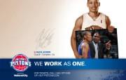 底特律活塞队NBA壁纸 体育壁纸