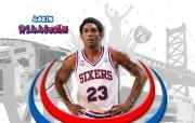 NBA Lou Williams壁纸下载 费城76人队200809赛季官方桌面壁纸 体育壁纸