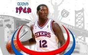 NBA Royal Ivey壁纸下载 费城76人队200809赛季官方桌面壁纸 体育壁纸