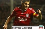 英超联赛球队 Steven Gerrard桌面壁纸 官方Liverpool 利物浦壁纸球场英姿 体育壁纸