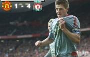英超联赛球队 gerrard score桌面壁纸 官方Liverpool 利物浦壁纸球场英姿 体育壁纸