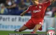 英超联赛球队 gerrard桌面壁纸 官方Liverpool 利物浦壁纸球员阵容 体育壁纸