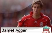 英超联赛球队 Daniel Agger桌面壁纸 官方Liverpool 利物浦壁纸球员阵容 体育壁纸