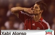 英超联赛球队 Xabi Alonso桌面壁纸 官方Liverpool 利物浦壁纸球员阵容 体育壁纸