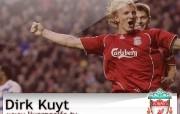 英超联赛球队 Dirk Kuyt桌面壁纸 官方Liverpool 利物浦壁纸球员阵容 体育壁纸