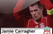 英超联赛球队 Jamie Carragher桌面壁纸 官方Liverpool 利物浦壁纸球员阵容 体育壁纸