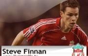 英超联赛球队 Steven Finnan桌面壁纸 官方Liverpool 利物浦壁纸球员阵容 体育壁纸