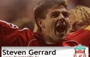 英超联赛球队 Steven Gerrard桌面壁纸 官方Liverpool 利物浦壁纸球员阵容 体育壁纸