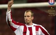 英超联赛球队 Brit 10 Years Player of the Decade Peter Hoekstra桌面壁纸 官方Stoke City 斯托克城壁纸 体育壁纸
