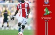 英超联赛球队 October Abdoulaye Faye Wallpaper桌面壁纸 官方Stoke City 斯托克城壁纸 体育壁纸
