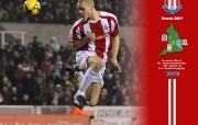 英超联赛球队 Ryan Shawcross March Wallpaper桌面壁纸 官方Stoke City 斯托克城壁纸 体育壁纸