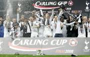 英超联赛球队 Carling Cup Winners 2008桌面壁纸 官方Tottenham 热刺壁纸 体育壁纸