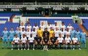 英超联赛球队 2008 2009 Team Photo桌面壁纸 官方Tottenham 热刺壁纸 体育壁纸