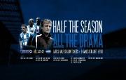英超联赛球队 HALF THE SEASON ALL THE DRAMA WALLPAPER桌面壁纸 官方Wigan Athletic 维冈竞技壁纸 体育壁纸