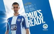 英超联赛球队 PAUL S READY桌面壁纸 官方Wigan Athletic 维冈竞技壁纸 体育壁纸