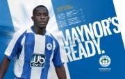 英超联赛球队 MAYNOR S READY桌面壁纸 官方Wigan Athletic 维冈竞技壁纸 体育壁纸
