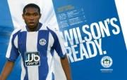 英超联赛球队 WILSON S READY桌面壁纸 官方Wigan Athletic 维冈竞技壁纸 体育壁纸