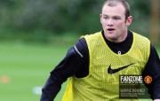 英超联赛球队 官方Manchester United Wayne Rooney桌面壁纸 红魔曼联壁纸 备战训练 体育壁纸
