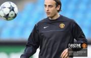 英超联赛球队 官方Manchester United Dimitar Berbatov桌面壁纸 红魔曼联壁纸 备战训练 体育壁纸