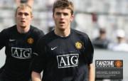英超联赛球队 官方Manchester United Michael Carrick桌面壁纸 红魔曼联壁纸 备战训练 体育壁纸