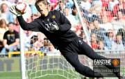 英超联赛球队 官方Manchester United Edwin Van Der Sar桌面壁纸 红魔曼联壁纸 备战训练 体育壁纸
