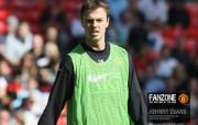 英超联赛球队 官方Manchester United Johnny Evans桌面壁纸 红魔曼联壁纸 备战训练 体育壁纸