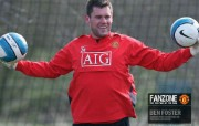 英超联赛球队 官方Manchester United Ben Foster桌面壁纸 红魔曼联壁纸 备战训练 体育壁纸