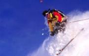 极限运动滑雪 体育壁纸