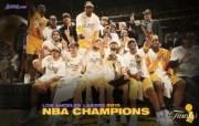 洛杉矶湖人 2010NBA季后赛和总决赛冠军壁纸 壁纸2 洛杉矶湖人:2010 体育壁纸