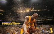 洛杉矶湖人 2010NBA季后赛和总决赛冠军壁纸 Kobe Bryant Finals MVP 总决赛最有价值球员 MVP 科比桌面壁纸 洛杉矶湖人2010NBA季后赛和总决赛冠军壁纸 体育壁纸