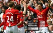 英超联赛球队 官方 United 2 City 0桌面壁纸 Manchester United 红魔曼联壁纸 200809赛季 体育壁纸
