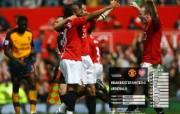 英超联赛球队 官方 United 0 Arsenal 0桌面壁纸 Manchester United 红魔曼联壁纸 200809赛季 体育壁纸