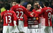 英超联赛球队 官方 Newcastle 1 United 2桌面壁纸 Manchester United 红魔曼联壁纸 200809赛季 体育壁纸