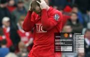 英超联赛球队 官方 United 1 Liverpool 4桌面壁纸 Manchester United 红魔曼联壁纸 200809赛季 体育壁纸