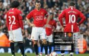 英超联赛球队 官方 Fulham 2 United 0桌面壁纸 Manchester United 红魔曼联壁纸 200809赛季 体育壁纸