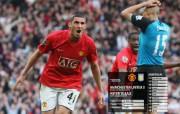 英超联赛球队 官方 United 3 Villa 2桌面壁纸 Manchester United 红魔曼联壁纸 200809赛季 体育壁纸