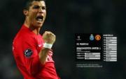 英超联赛球队 官方 Porto 0 United 1桌面壁纸 Manchester United 红魔曼联壁纸 200809赛季 体育壁纸