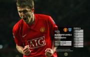 英超联赛球队 官方 United 2 Portsm th 0桌面壁纸 Manchester United 红魔曼联壁纸 200809赛季 体育壁纸