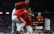 英超联赛球队 官方 United 1 Arsenal 0桌面壁纸 Manchester United 红魔曼联壁纸 200809赛季 体育壁纸