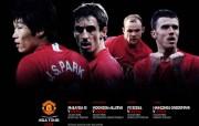 英超联赛球队 官方 Asia Tour 2009桌面壁纸 Manchester United 红魔曼联壁纸 200809赛季 体育壁纸