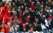 英超联赛球队 官方 Liverpool 1 0桌面壁纸 Manchester United 曼联壁纸胜利时刻 体育壁纸